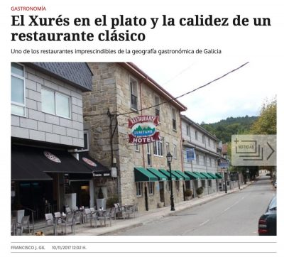 Hotel Restaurante Lusitano Lobios - Alojamiento Turismo - Geres - Portas do Xurés - Reserva da Biosfera - Baixa Limia - La Región - El Xurés en el plato - Gastronomía