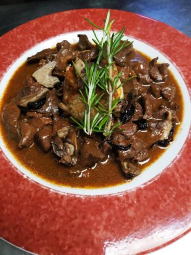 Guiso de ciervo - Restaurante Lusitano - Lobios